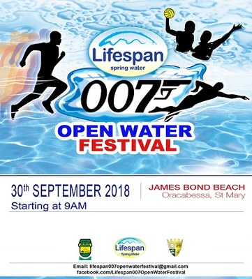 2018 007 Open Water Swim Festival